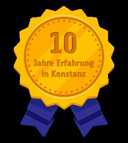 Sprachschule Konstanz - Siegel - 10 Jahren erfahrung