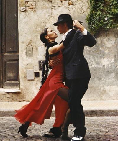 Tango, traditioneller Tanz und Musikrichtung. Argentinien - Free bild