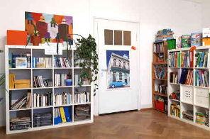 Biblioteca en español en Konstanz de Hablamos Spanischschule