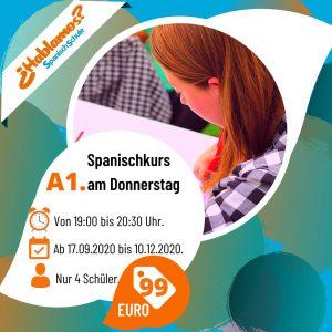 Spanischkurs abends in Konstanz